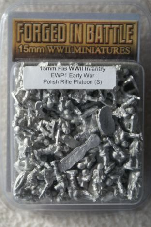 Forged in Battle 15mm EWP-01 Polish Infantry Platoon